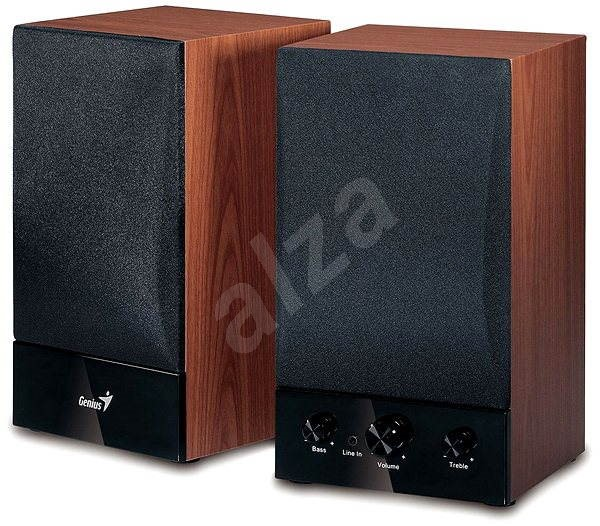 Genius SP-HF1250B farba dreva - Reproduktory