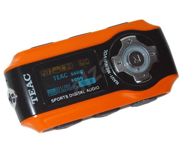 MP3 přehrávač TEAC MP-270 Sporty - MP3 prehrávač