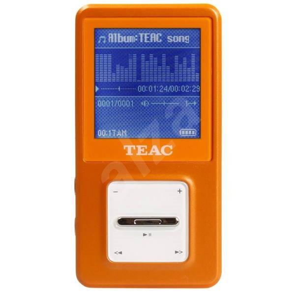 TEAC MP-375SD 4GB oranžový - MP3 prehrávač