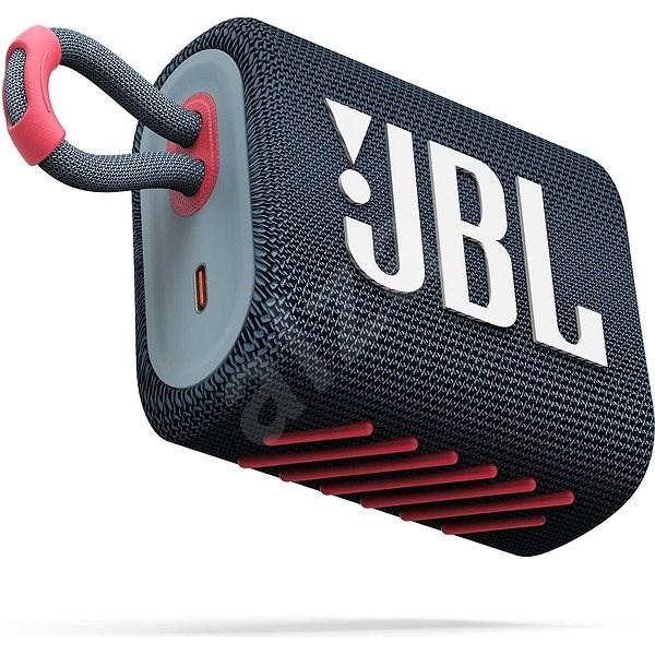 JBL GO 3 blue coral - Bluetooth reproduktor