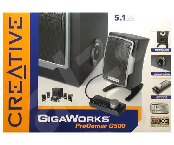 Creative GigaWorks ProGamer 5.1 THX G500 - Reproduktory