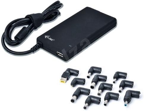 I-TEC Ultra Slim Power Adapter 90W + USB - Univerzálny napájací adaptér