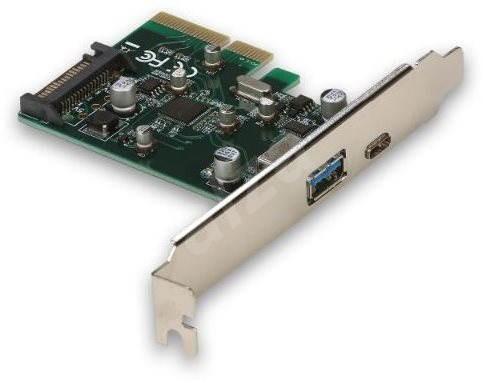 I-TEC PCIe Card USB-C 3.1 gen 2 10Gps Card - Radič