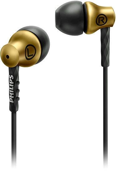 Philips SHE8100BS čierno-zlaté - Slúchadlá