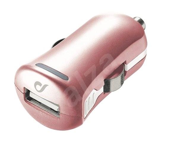 Cellularline Unique Design car charger pro iPhone ružovo-zlatá - Nabíjačka  do auta 3b43daac5e8