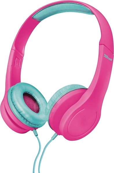 Trust Bino Kids Headphones pink - Slúchadlá