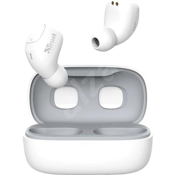 Trust Nika Compact Bluetooth Wireless Earphones biele - Bezdrôtové slúchadlá