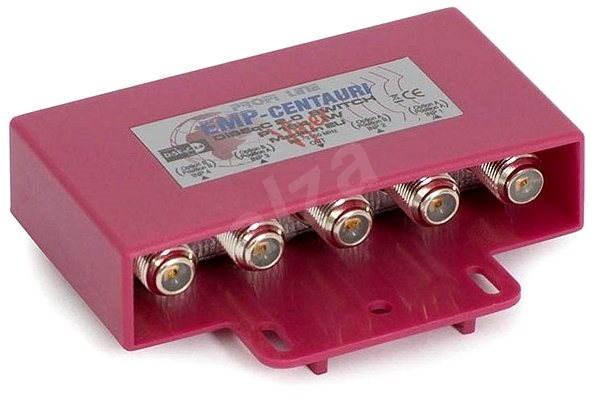 prepínač Diseqc zo 4 konvertorov, vonkajšie vyhotovenie, F konektory - Prepínač