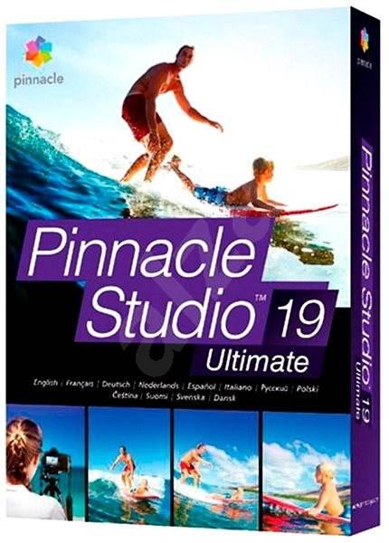 Pinnacle Studio 19 Ultimate CZ - Strihový softvér  c95d2bc2ff0