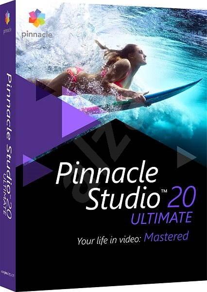 Pinnacle Studio 20 Ultimate - Strihový softvér  a5268f83d97