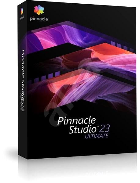 Pinnacle Studio 23 Ultimate (BOX) - Strihový softvér