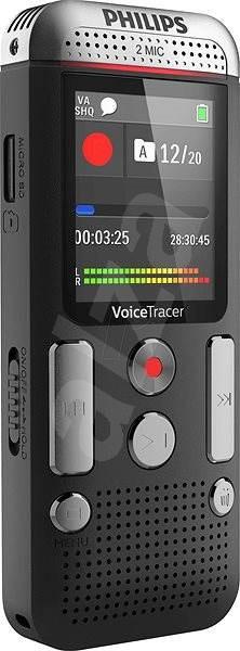 Philips DVT2510 čierny - Diktafón