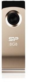 Silicon Power Touch T825 Champagne Gold 8GB - USB kľúč