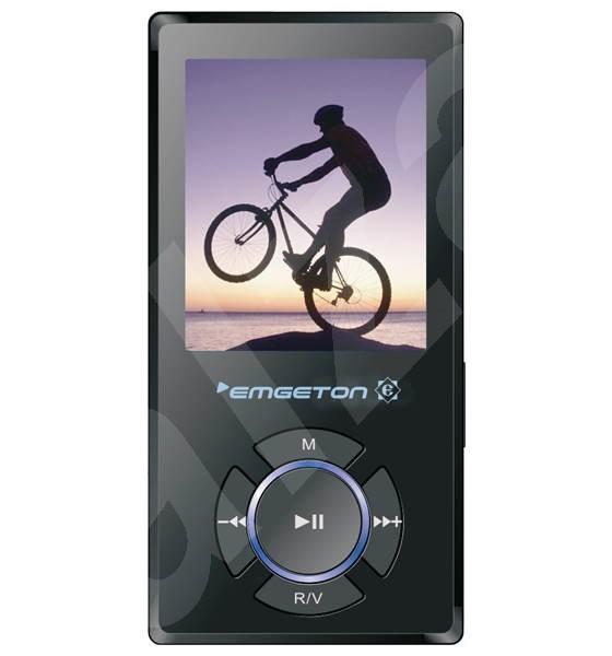 MP3 přehrávač Emgeton E4Cult 4GB - MP3 prehrávač