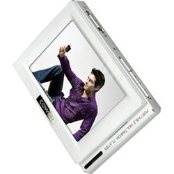 """COWON D2 bílý (white), 8GB + SD, MP3/ WMA/ ASF/ WAV/ OGG/ FLAC/ JPG/ TXT přehr., 2.5"""" dot. LCD, FM,  - FLAC prehrávač"""