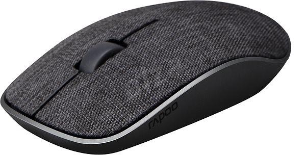 Rapoo 3510 Plus čierny textil - Myš