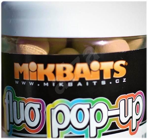 Mikbaits Plávajúci fluo Pop-Up Polnočný pomaranč 10 mm 60 ml - Plávajúce boilies