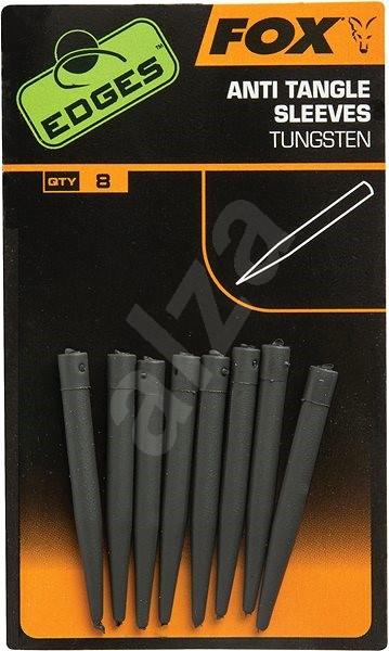FOX Edges Anti-tangle Sleeve Micro Tungsten 8 ks - Prevlek
