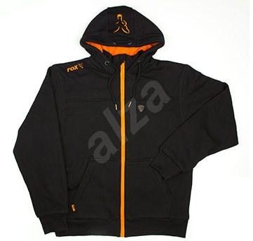 d48b929dcf FOX Heavy Lined Hoody Black Orange Veľkosť XXXL - Mikina