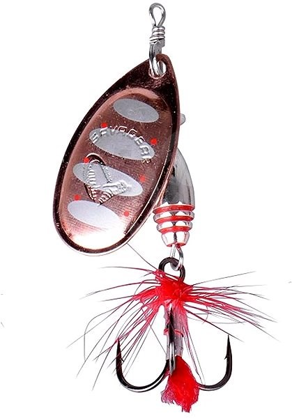 Savage Gear Rotex Spinner Veľkosť 2 a 4 g Cobber Silver - Trblietka
