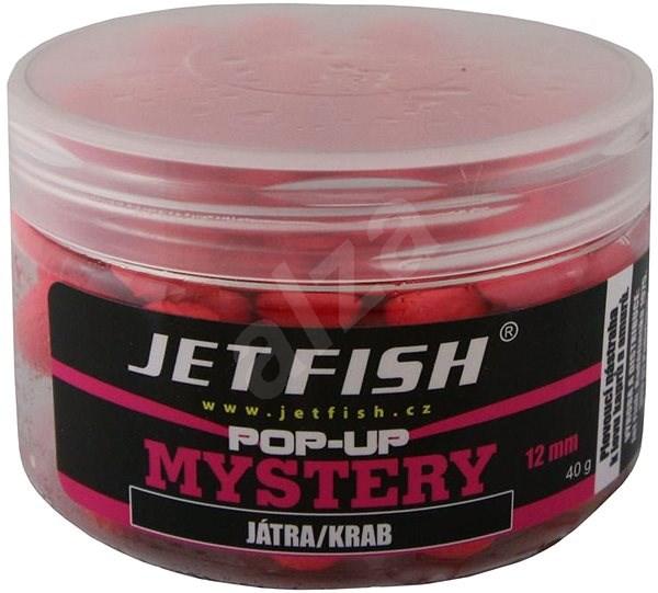 Jet Fish Pop-Up Mystery Pečeň/Krab 12 mm 40 g - Plávajúce boilies