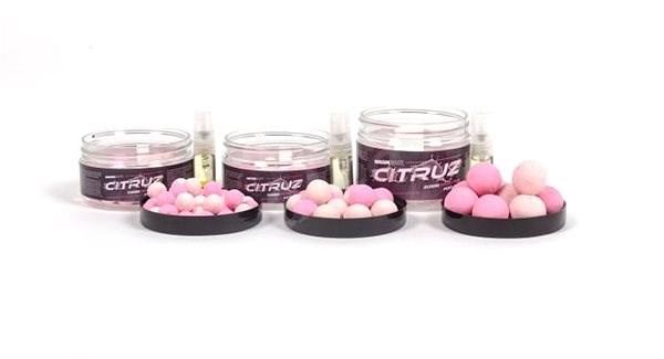 Nash Citruz Pop Ups Pink 15 mm 75 g - Plávajúce boilies