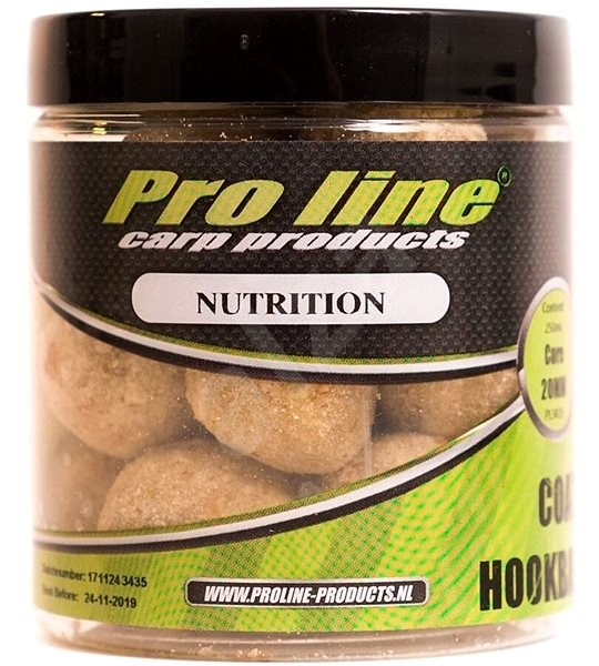Pro Line Coated Hookbaits NuTrition 20 mm 250 ml - Boilies