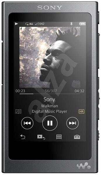 Sony Hi-Res WALKMAN NW-A35 čierny - FLAC prehrávač