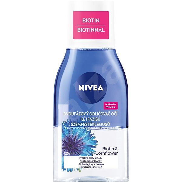 NIVEA Daily Essentials Double Effect Eye Make-up Remover 125 ml - Odličovač