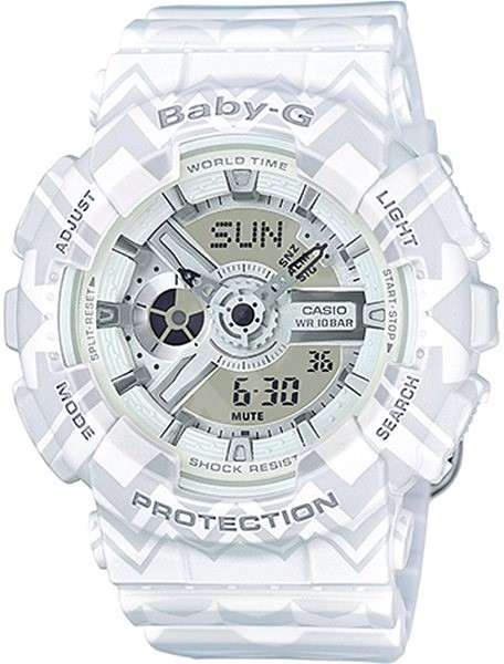 CASIO BA BABY-G 110TP-7A - Dámske hodinky  180f6a36a22