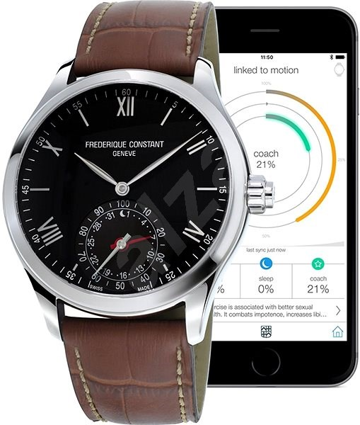 374ee0bbb Frederique Constant FC-285B5B6 - Smart hodinky | Alza.sk