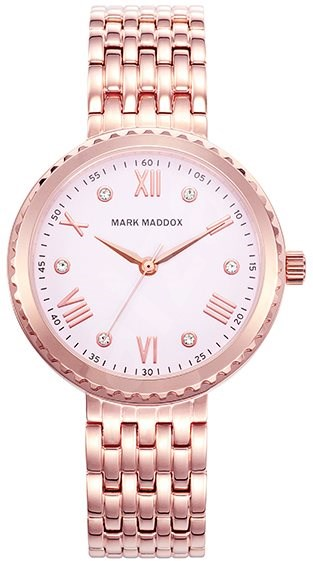 83878fb27 MARK MADDOX Pink Gold MM7018-73 - Dámske hodinky | Trendy