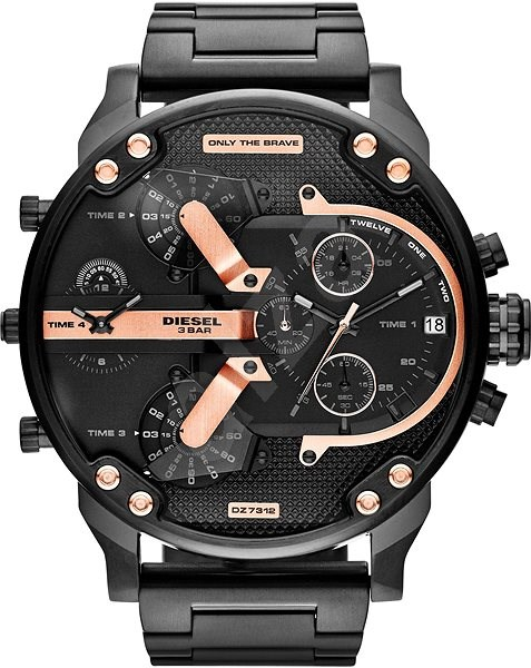 684409854ece DIESEL THE DADDIES SERIES DZ7312 - Pánske hodinky