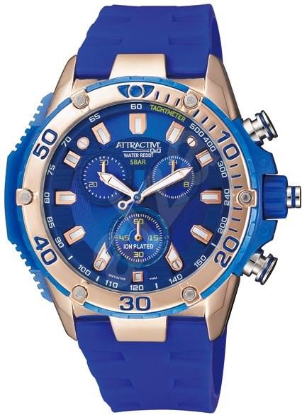 a61919769ae Q Q Attractive Chronograph Watch DG10J102Y - Pánske hodinky