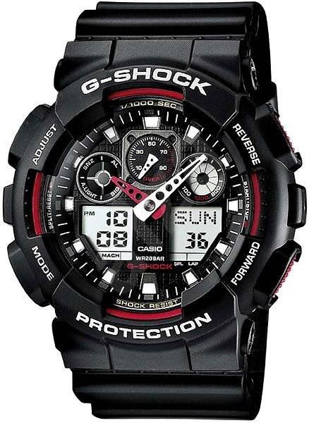 CASIO G-SHOCK GA 100-1A4 - Pánske hodinky  b17edd17f4a