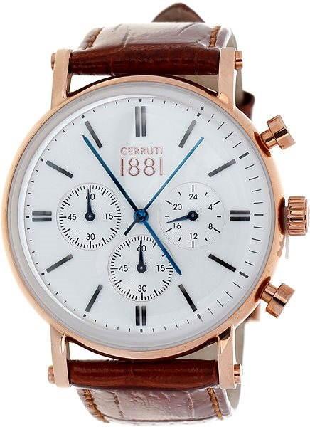 Cerruti 1881 CRA110SR01BR - Pánske hodinky  bf3907823a3