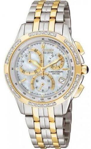 Citizen Eco-Drive Lady Chronograph FB1144-50D - Dámske hodinky  14865615f6