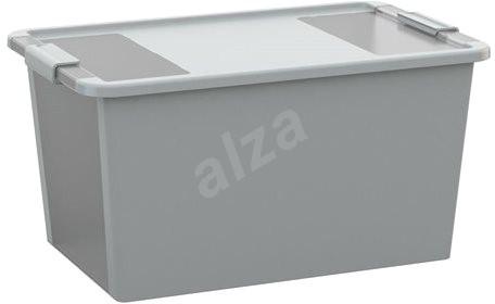 KIS Bi Box L - sivý 40 l - Úložný box
