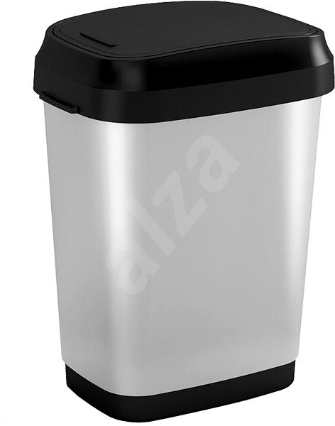 KIS Kôš na odpad Dual Swing Bin Style Steel M 25 l - Odpadkový kôš