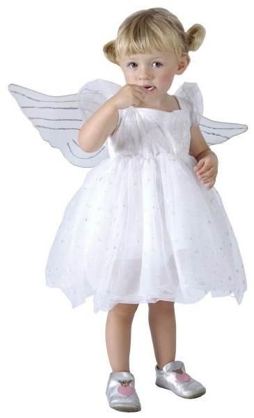 Šaty na karneval - Anjelik - Detský kostým  4be0c00fc45