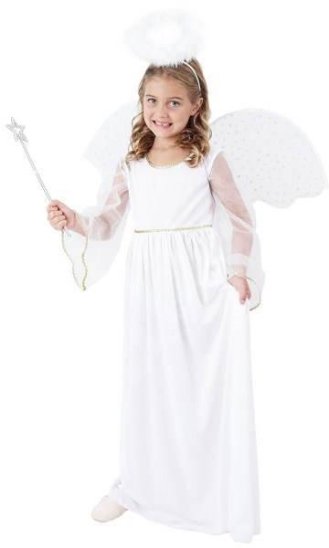 Šaty na karneval - Anjelik vel. S - Detský kostým  962b1f9508b