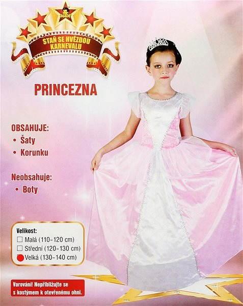 Šaty na karneval – Princezná veľ. L - Detský kostým de97b89cc98