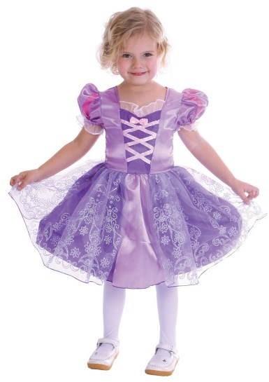 Karnevalové šaty - princezná XS - Detský kostým  39f853d32ce