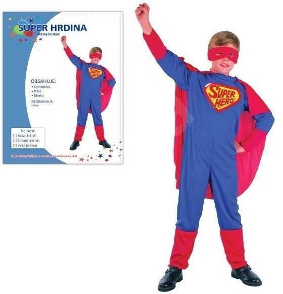 785ba24212c9 Šaty na karneval – Superhrdina veľkosť M - Detský kostým