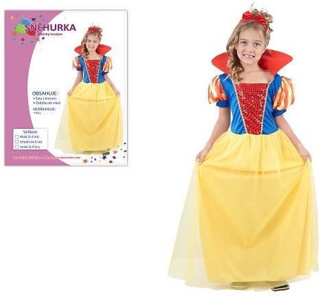 Šaty na karneval – Snehulienka veľkosť M - Detský kostým  f93ba06ddc5