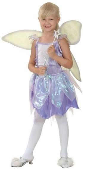 Šaty na karneval - Víla vel. M - Detský kostým  3c15bf32614