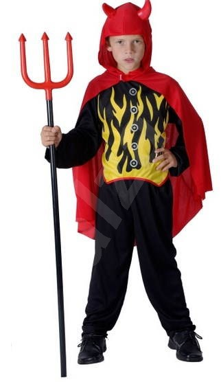280d2554e861 Šaty na karneval – Čert veľ. M - Detský kostým