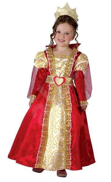 Šaty na karneval - Kráľovná veľ. XS - Detský kostým  b6787187350