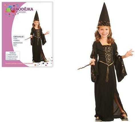 d610ddcb4a33 Šaty na karneval - Čarodejnica vel. M - Detský kostým