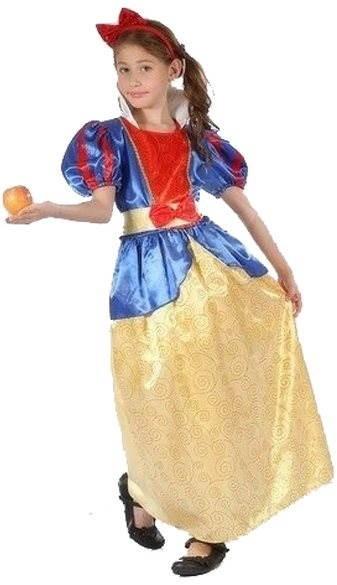 Šaty na karneval - Snehulienka veľ. M - Detský kostým  7888abb98c5